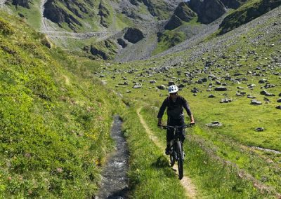Mountain biker - Verbier