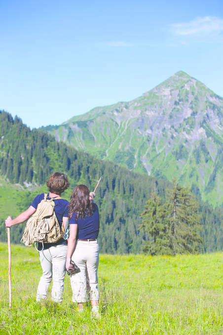 Image of Morzine summer hikers