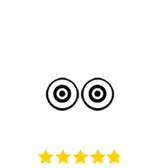 Trip Advisor 2018 cert of excellence award and review stars