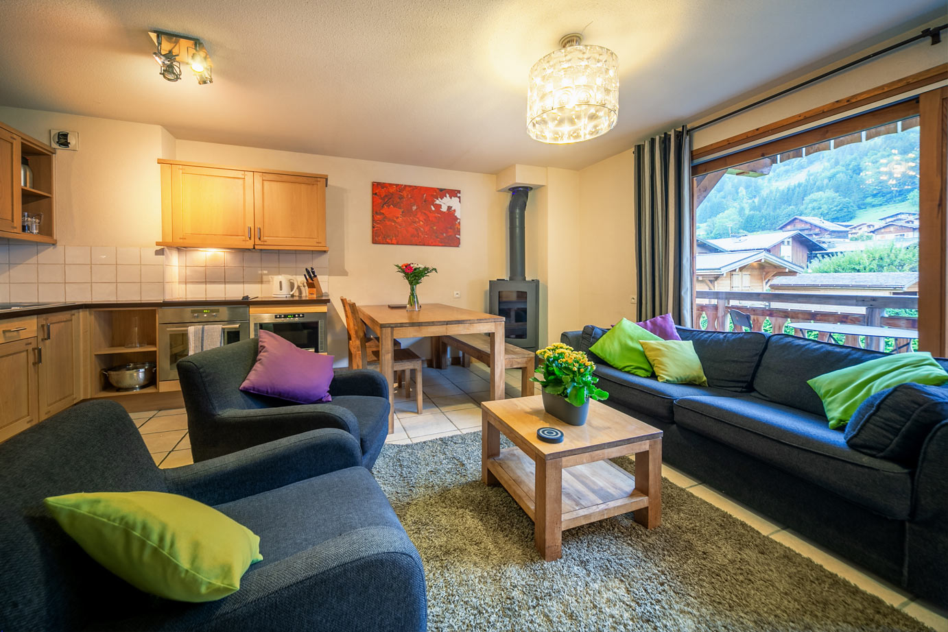 Image of a 3 Bedroom Apartment in Morzine