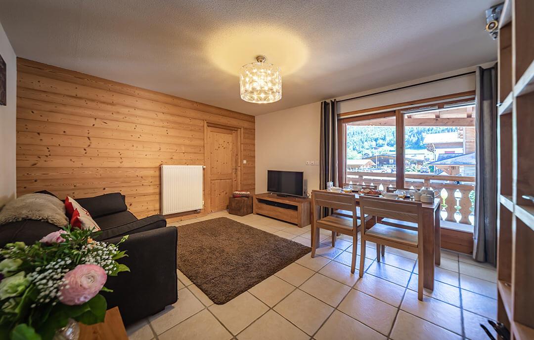 Image of Aiglon Morzine's 1 bedroom apartment Morzine
