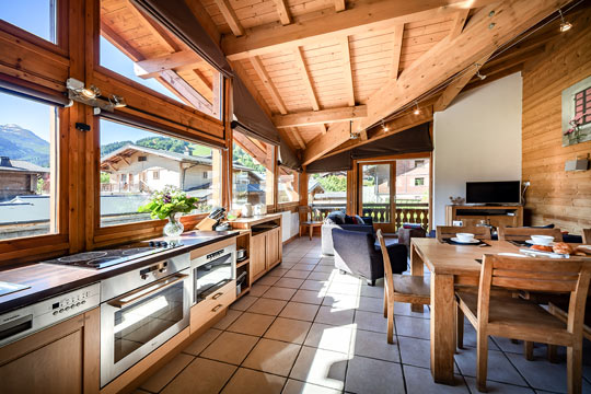 Image of an Aiglon Morzine spacious luxury apartment