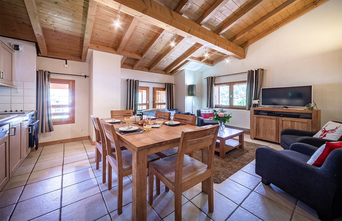 Image of a 3 Bedroom Morzine Apartment