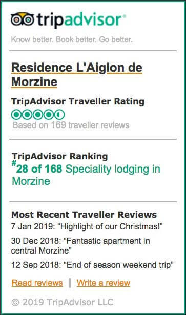 Image of Trip Advisor reviews