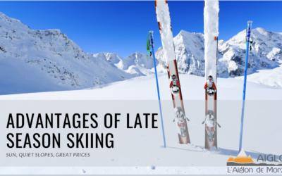 Advantages of Late Season Skiing