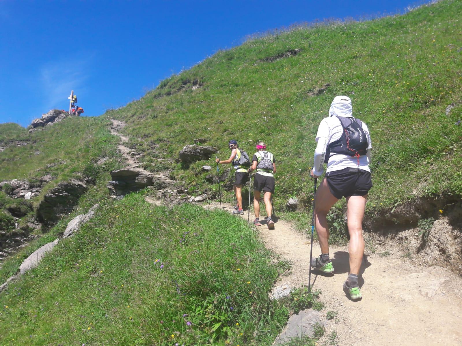 alpine walking holiday